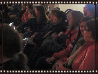 Mothers watching the show