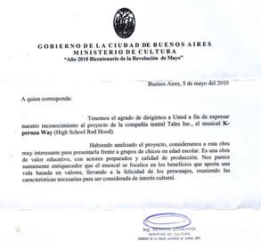 GCBA Ministerio Cultura
