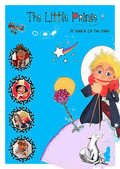 The little prince, in search of the star