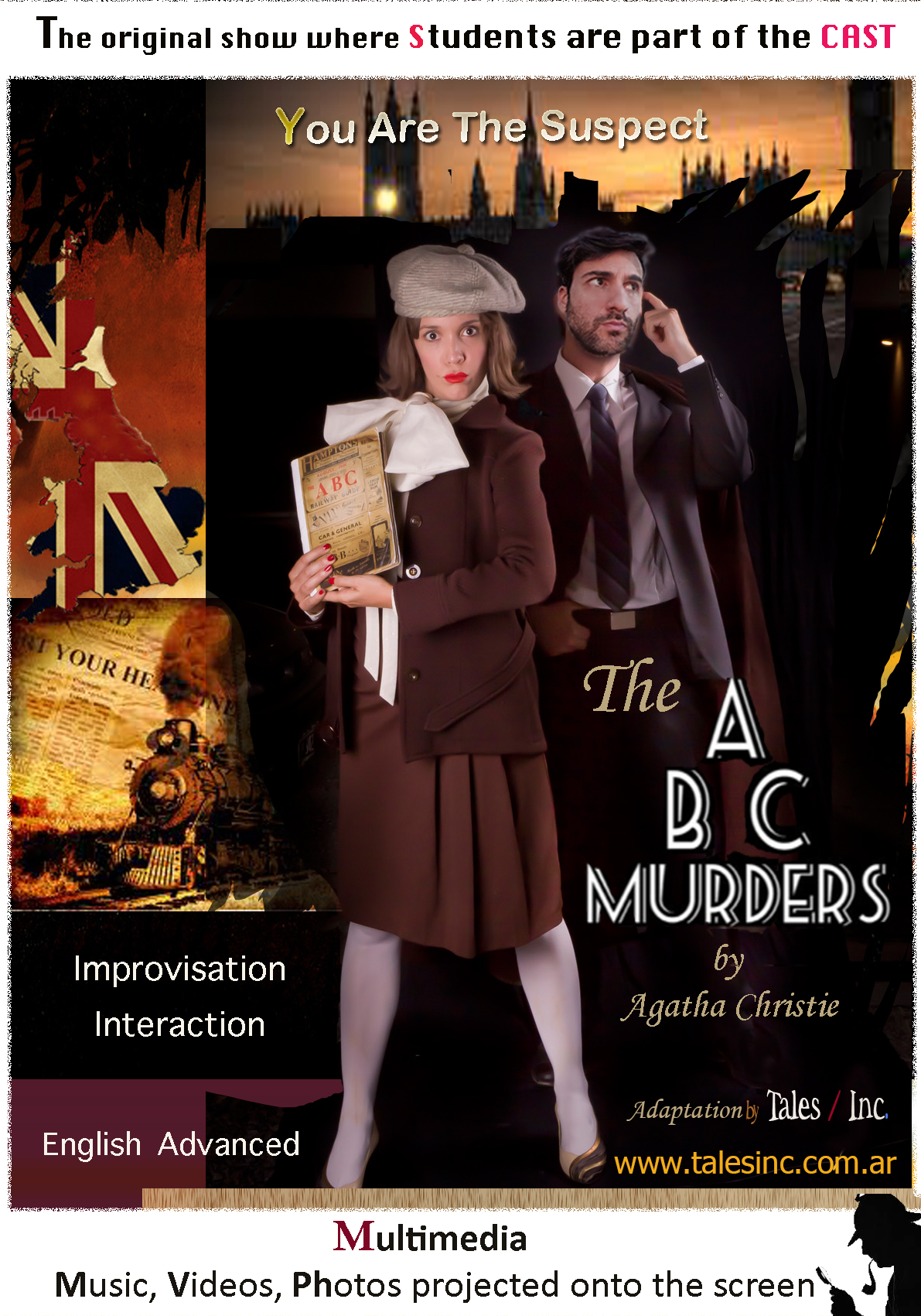 The  ABC Murders by A Christie.  ZONA OESTE