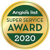 Angie's List Super Service Award 2020 TR Granite