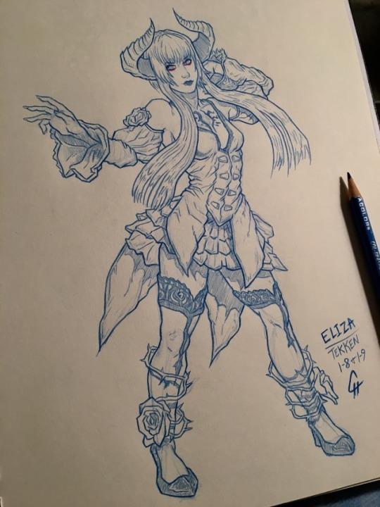 Eliza - Tekken 1-8/9-19