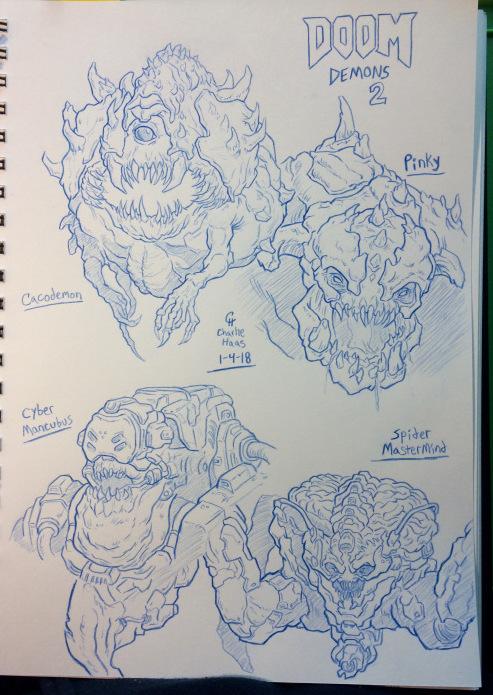 DOOM Demons 1-4-18