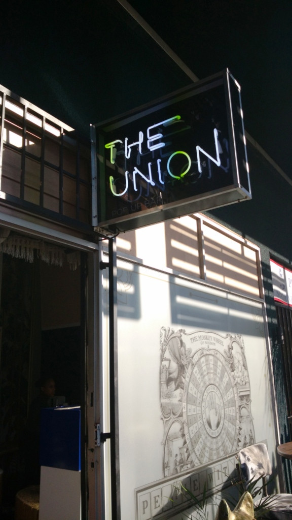 The Union can be found in Rosebank now