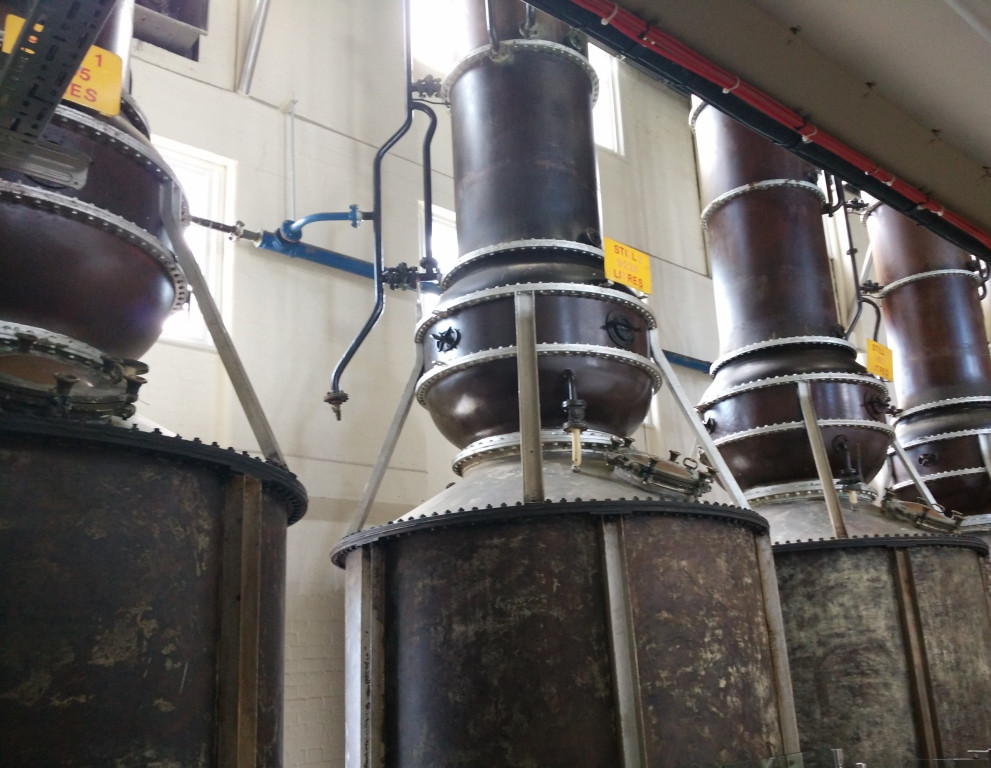 Giant stills that are no longer functioning