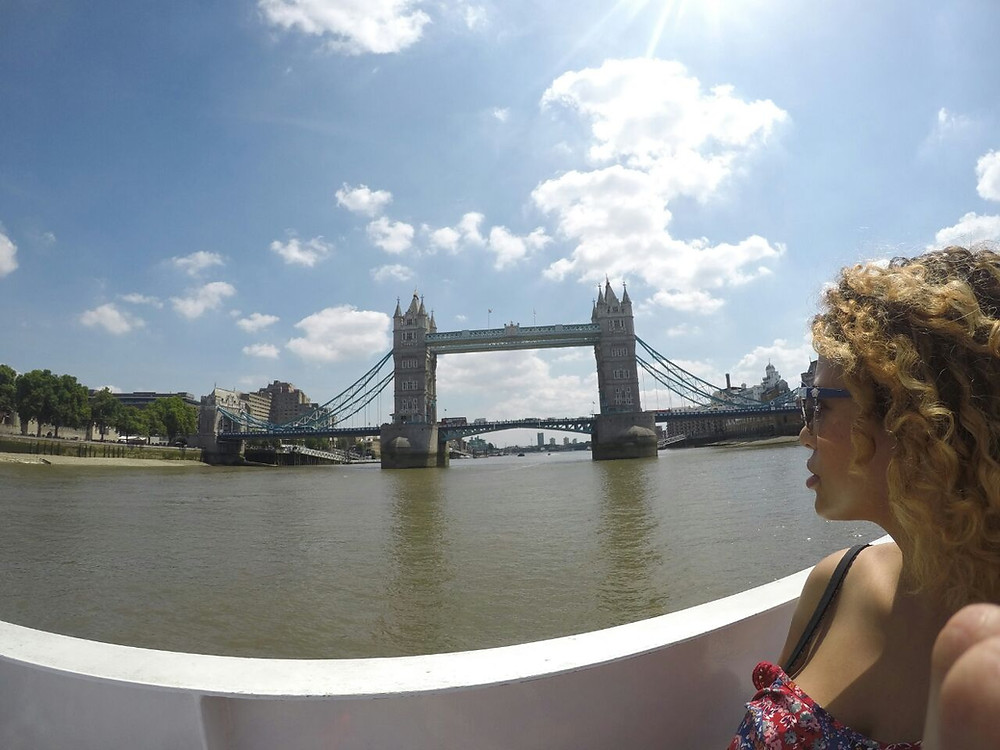 Tower Bridge from the boat - photo by Craig Tyndall