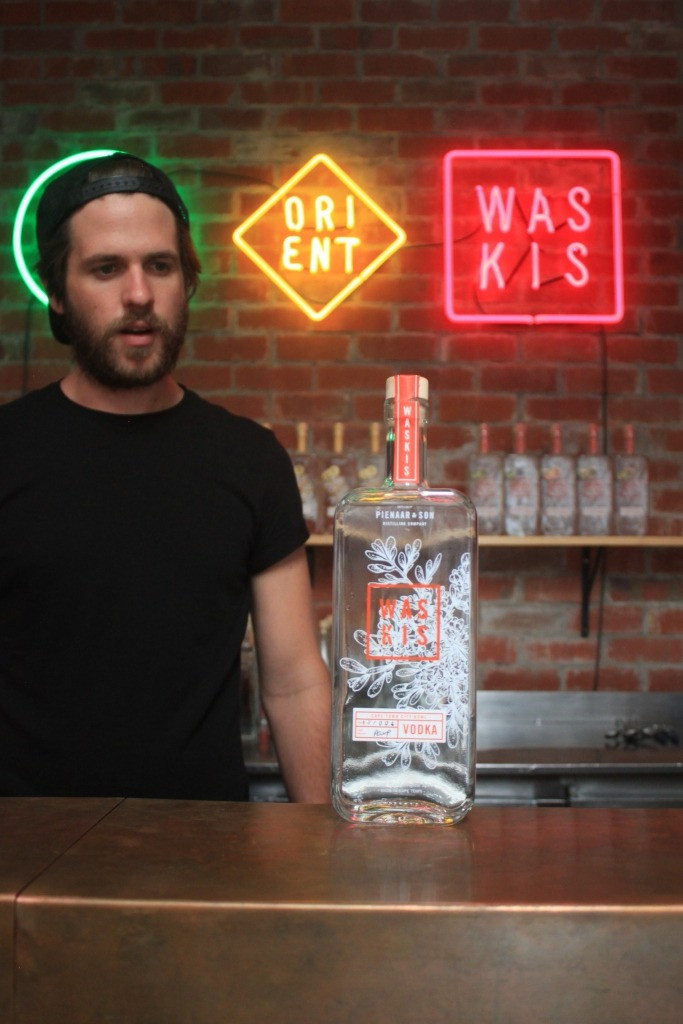 Andre and his amazing Waskis vodka
