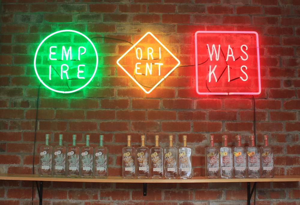 The empire, orient and waskis spirits