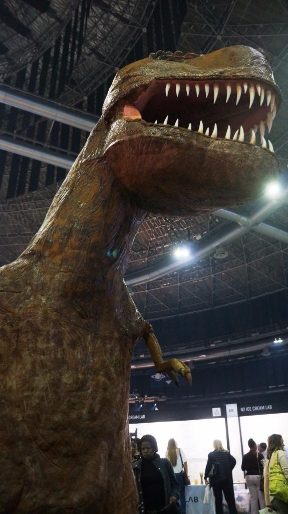 Giant T-Rex Cake