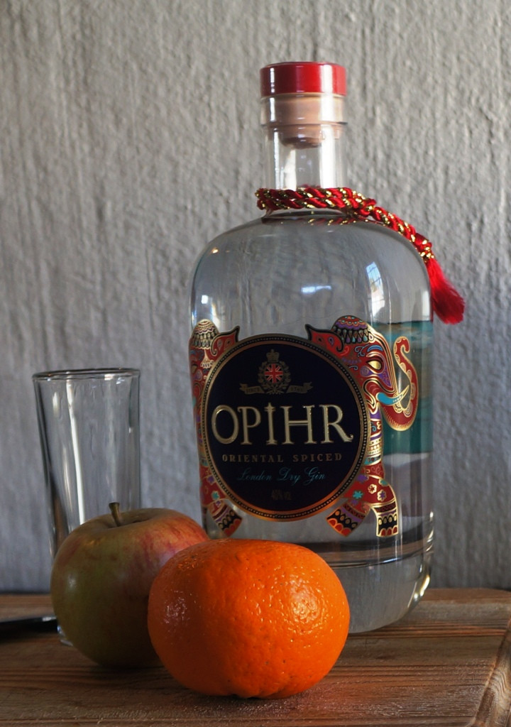 Opihr, one of the interesting gins I had this year