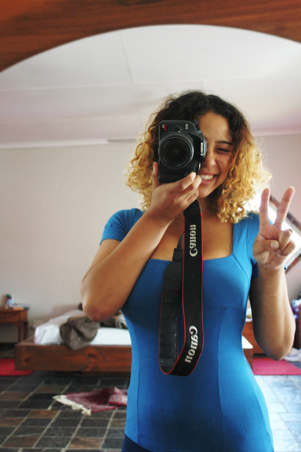 Me and my brand new camera