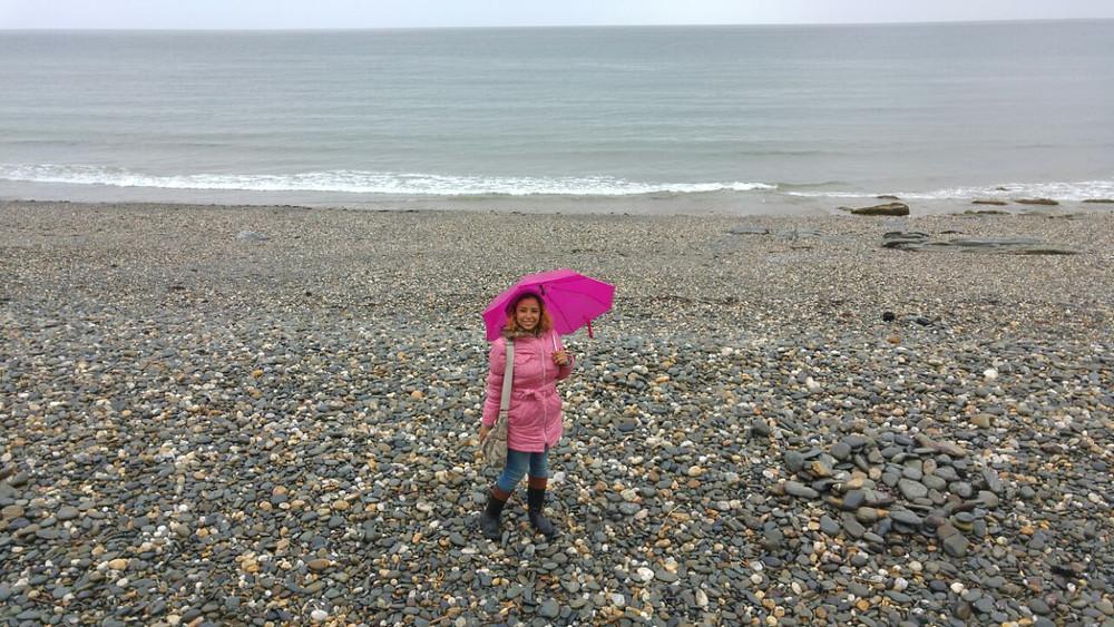A beautiful beach at the Isle of Man