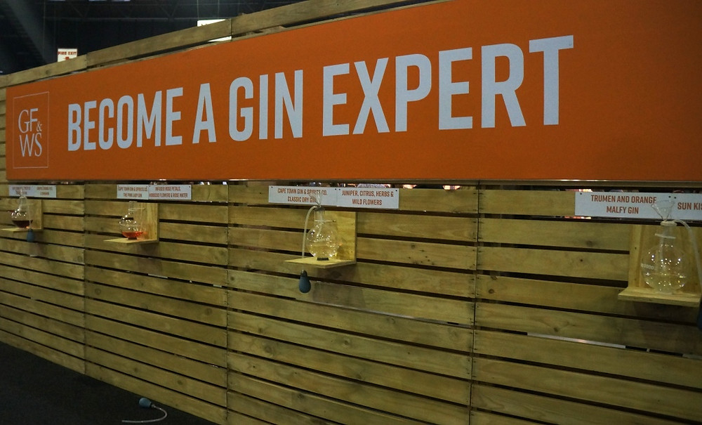 By sniffing gins and wines, you could learn a little more about them at this interactive display