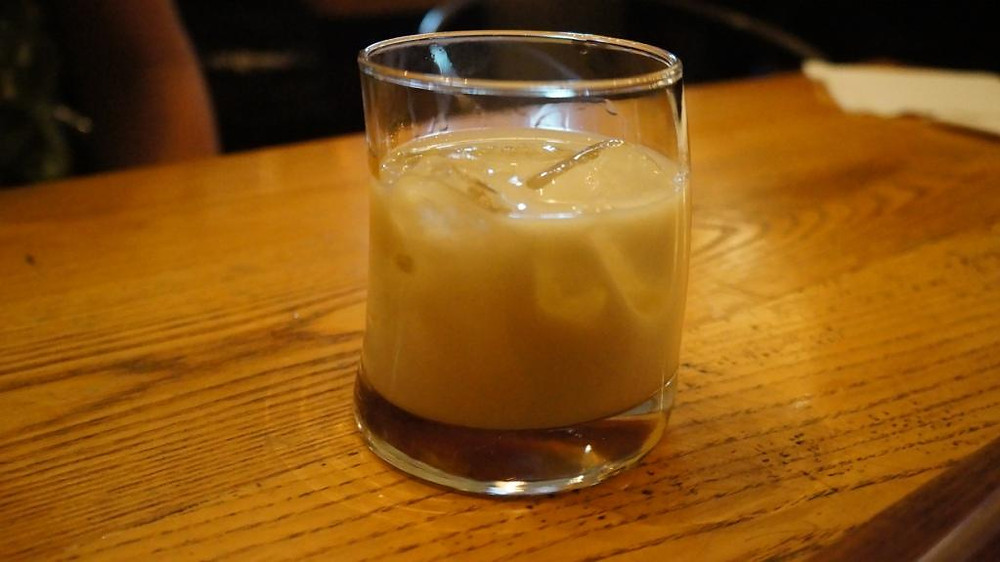 White Russian with Kahlua jellies