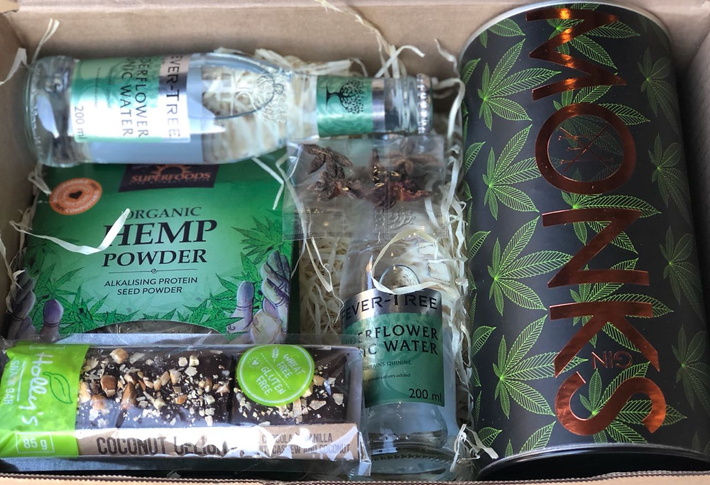 Latest package from the Captain's choice gin club