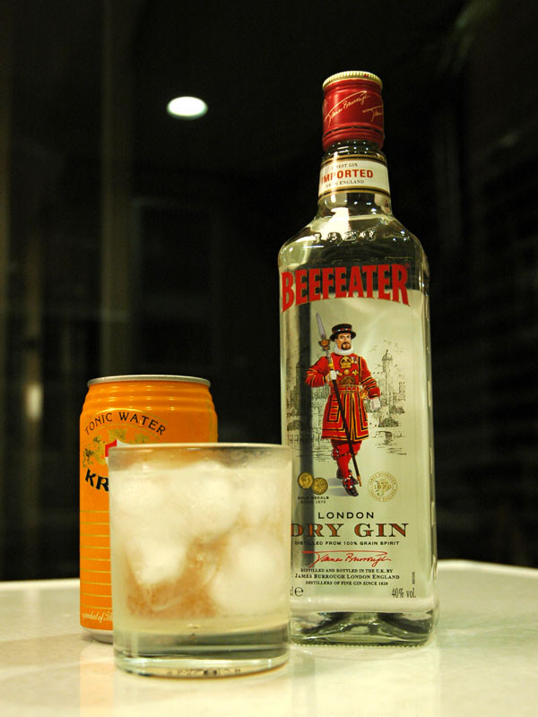 Beefeat gin