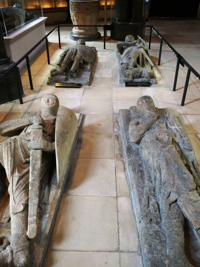Stone Effigies at the Temple Church