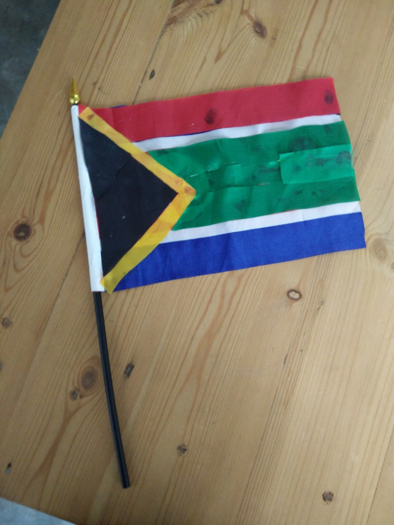 My weird South African flag