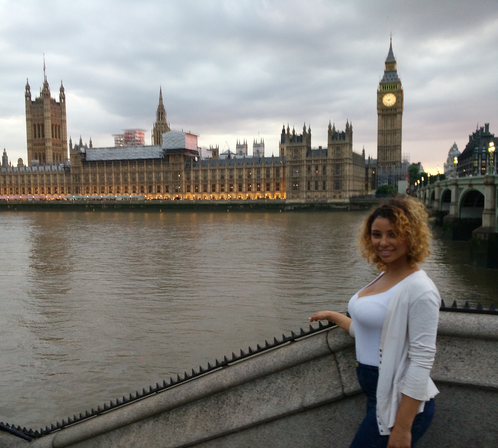 Outside of parliament in London