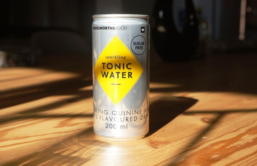 Woolworths sugarless tonic