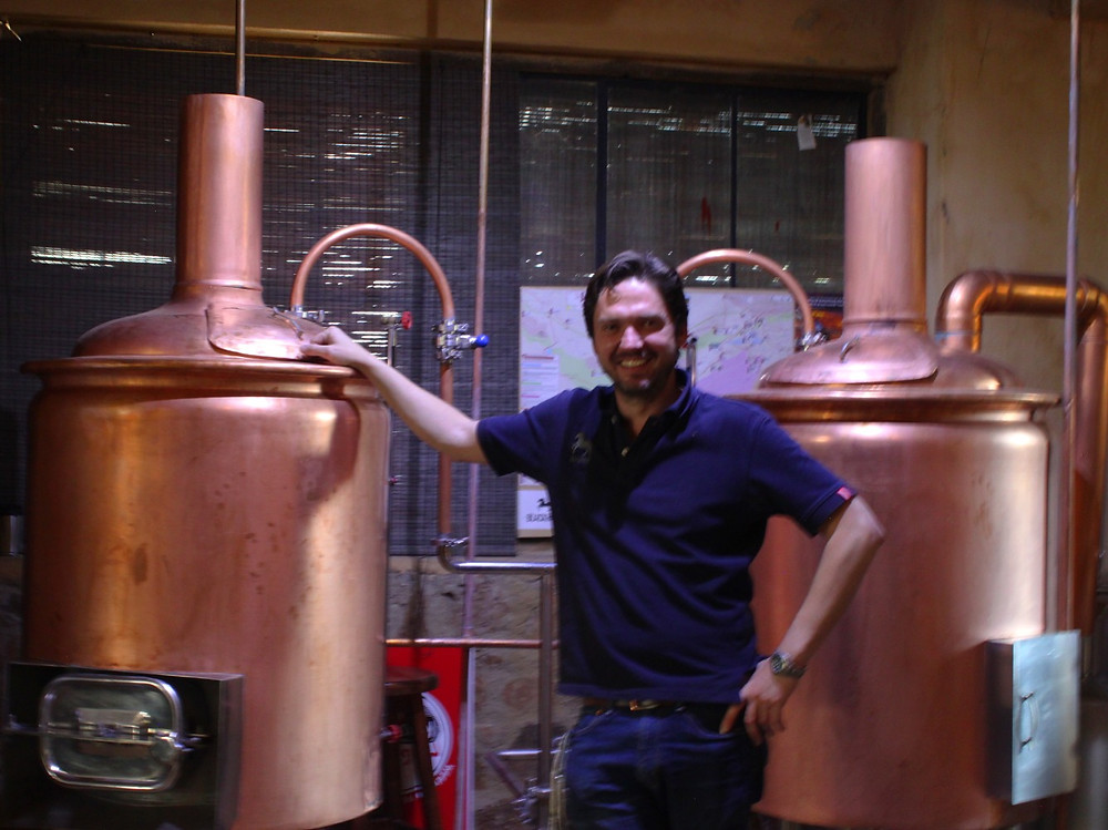 Marius Bezuidenhout of Black Horse Distillery