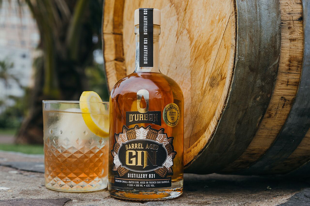 Barrel aged gin