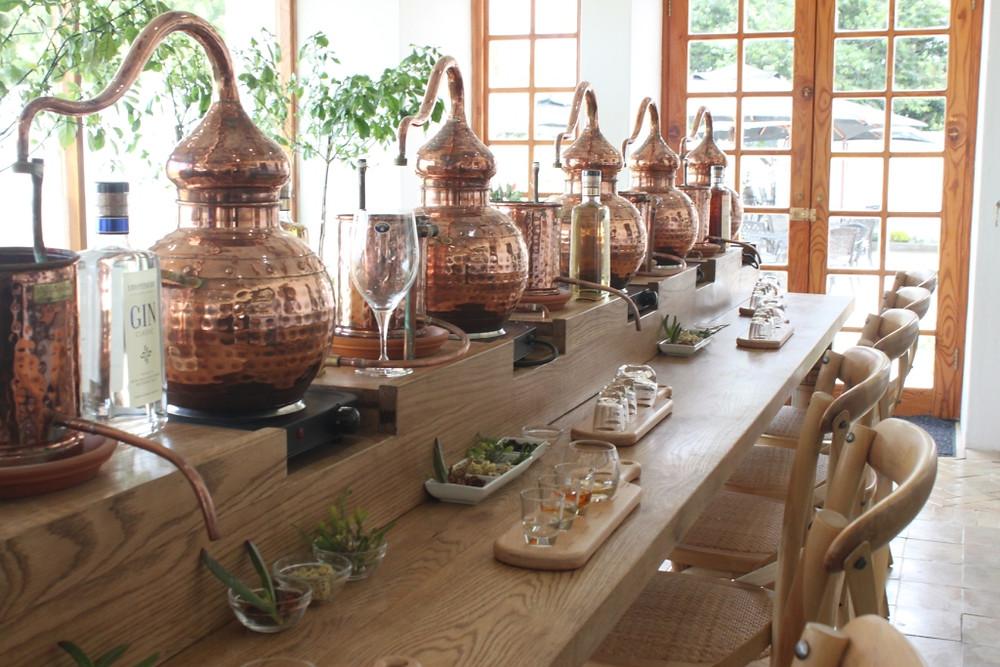 A sneak peek of Inverroche distillery