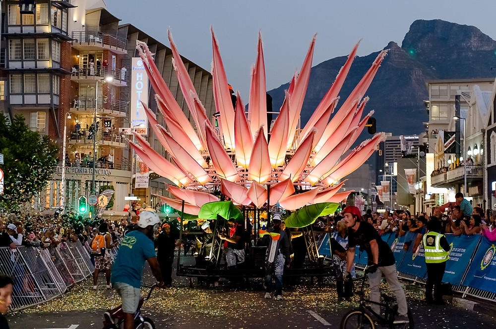 Cape Town carnival float