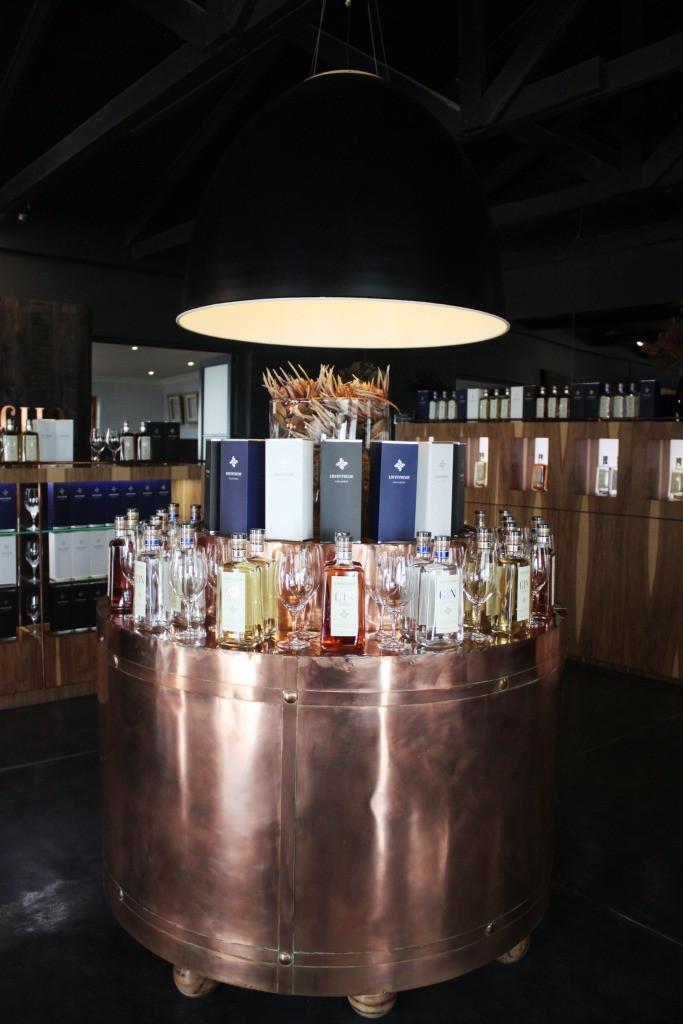 The Inverroche gin range