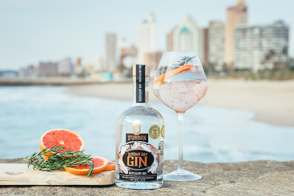 London Dry D'Urban gin