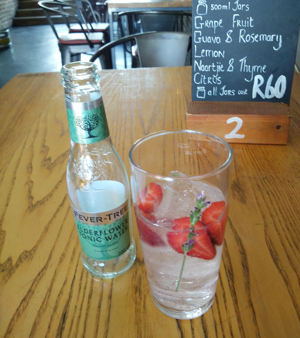 A Sipsmith gin and Fever-tree Elderflower tonic
