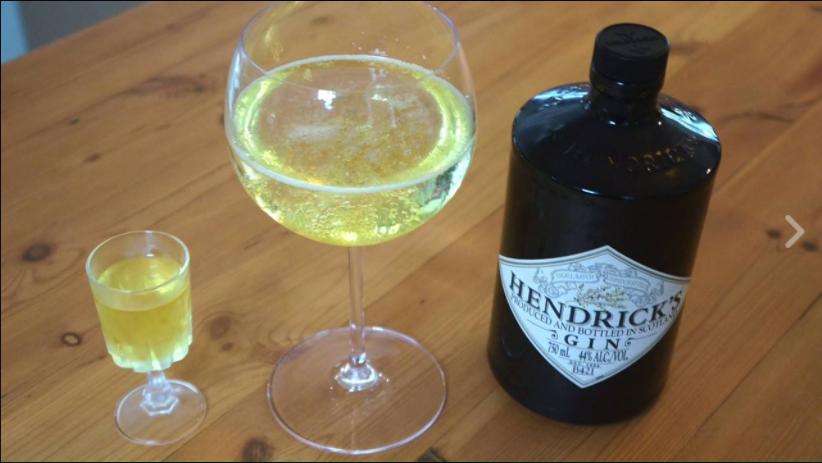 Hendrick's Gin jelly sots