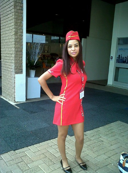 Promotions as an airhostess
