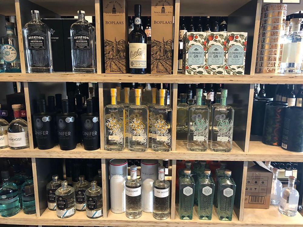 Some of the shelf assortment