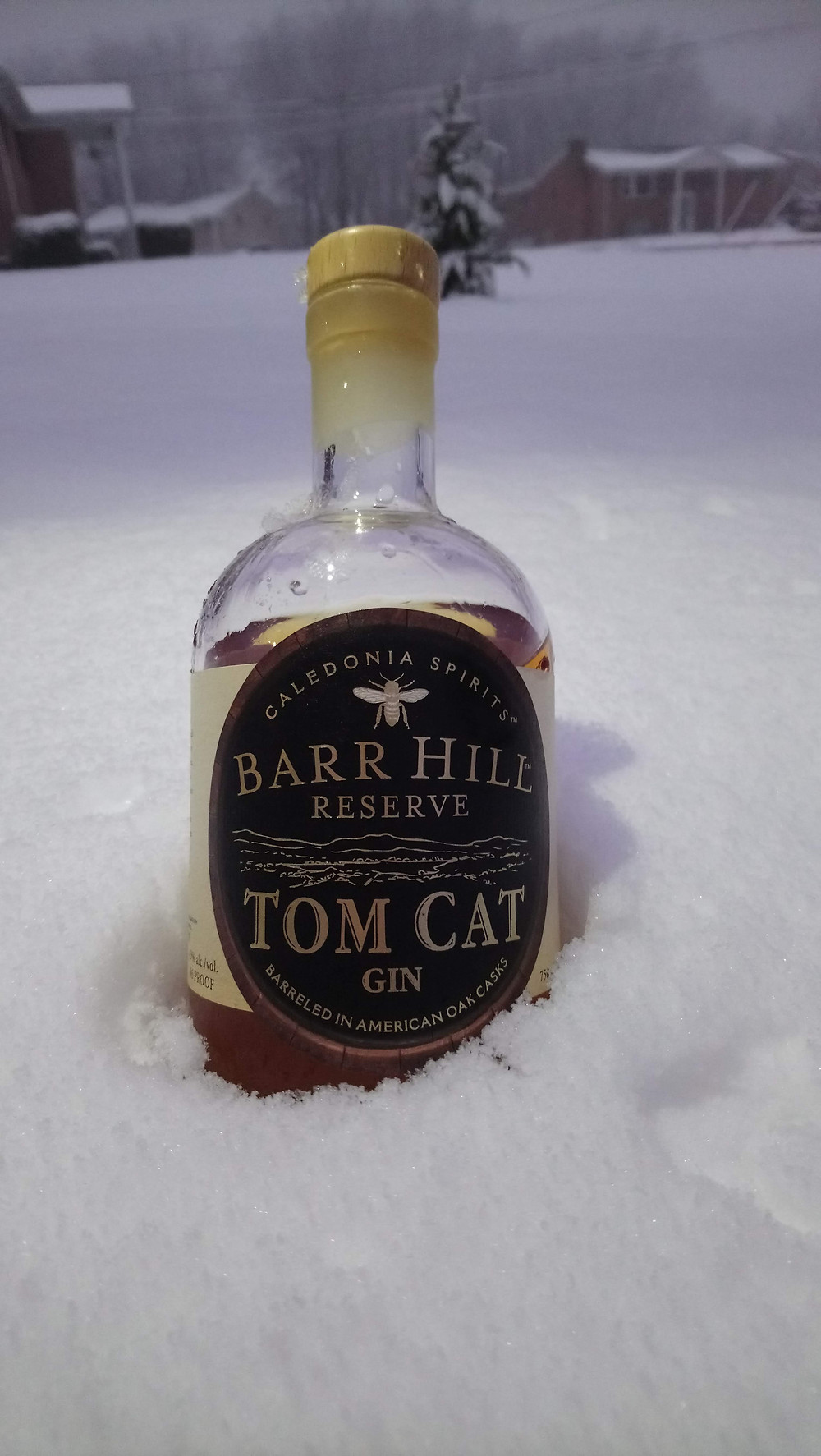 Tom Cat is an American Old Tom gin