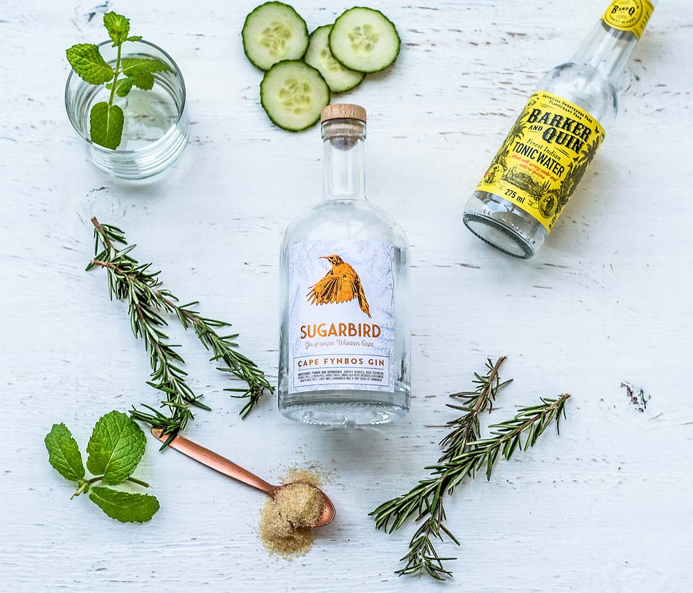 Sugarbird Cape Fynbos gin