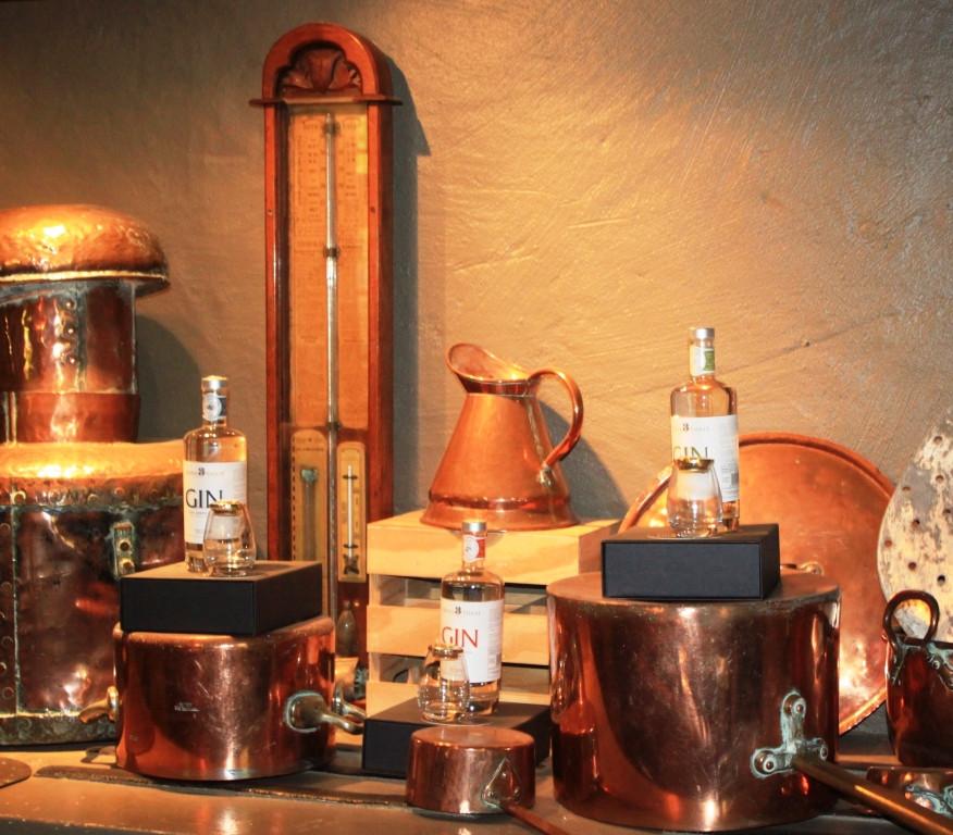 Gin distiller knick knacks
