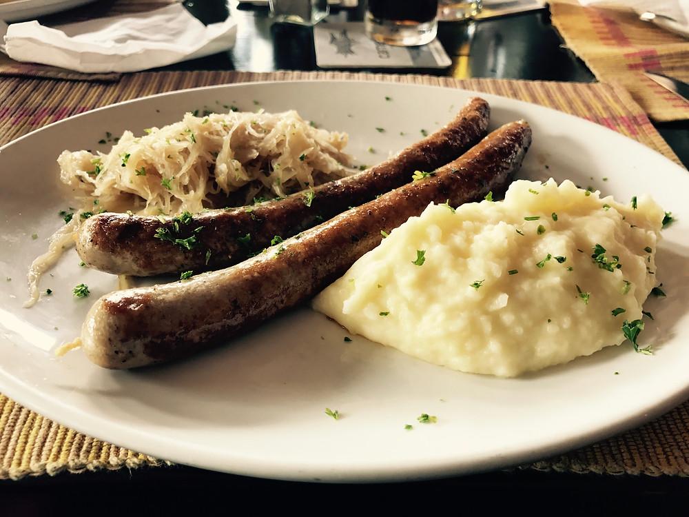 Tasty bratwurst