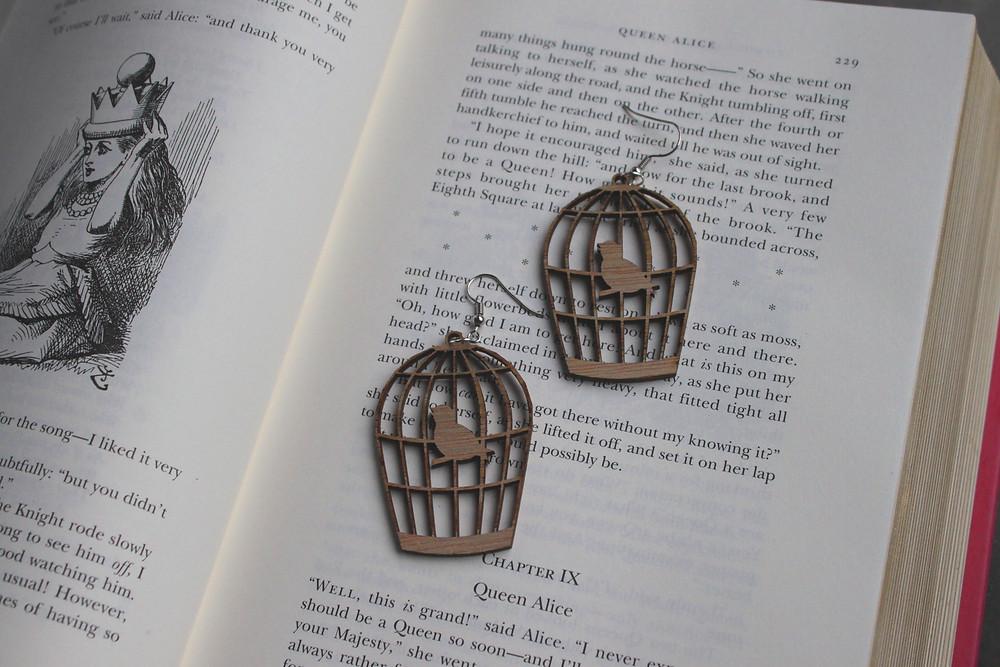 Lasercut earrings