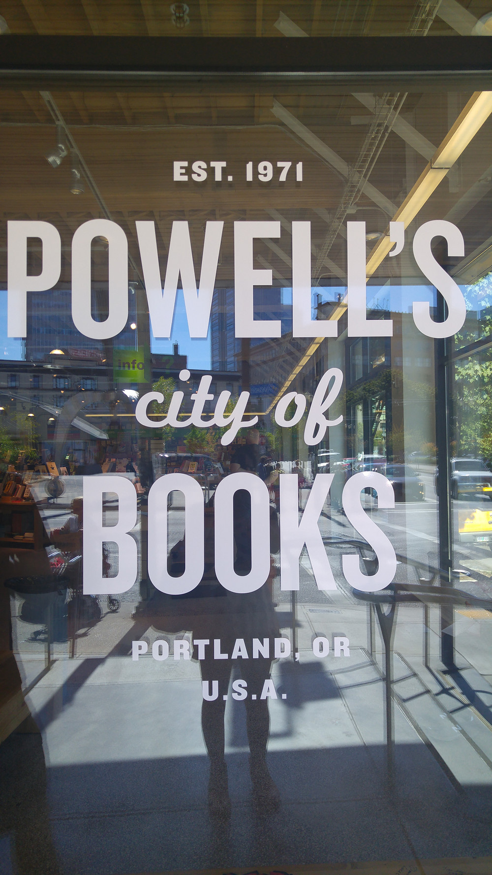 The incredible Powell's city of books in Portland