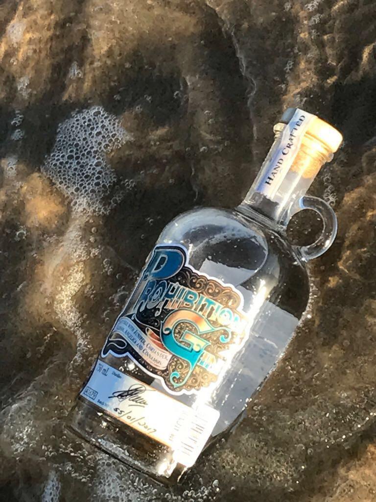 Beautiful photo of prohibition gin