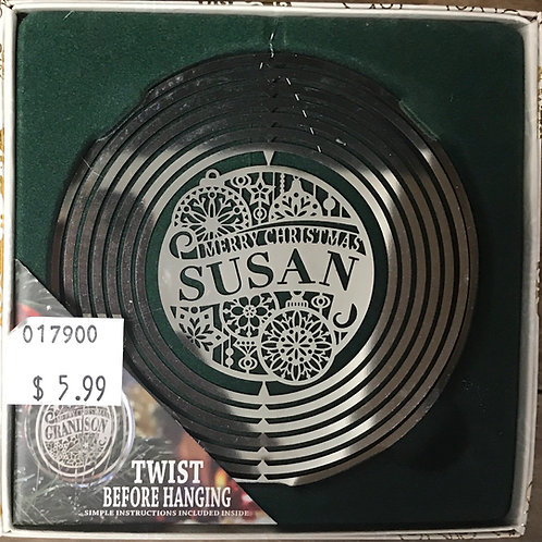 Personalized Tree Spinner - Susan
