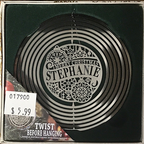 Personalized Tree Spinner - Stephanie