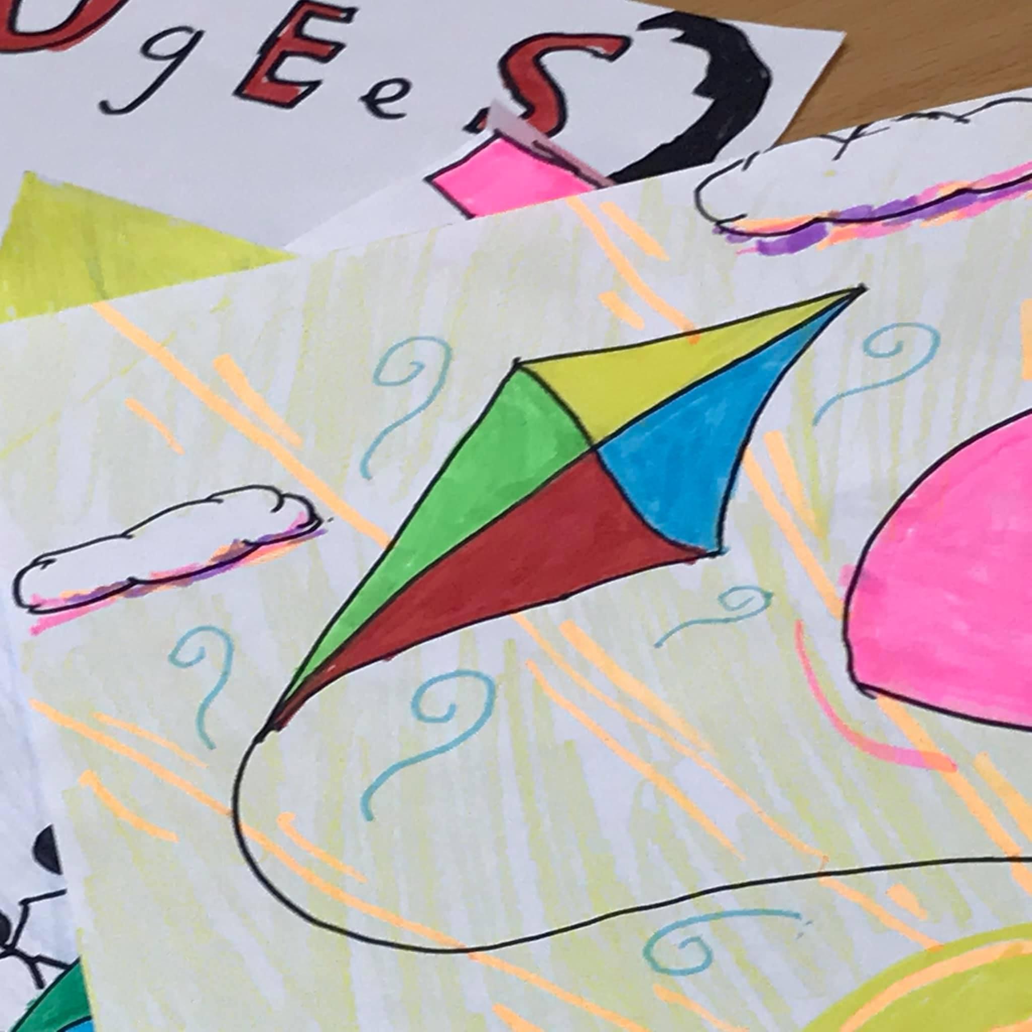 My Bright Kite Hearts and Hopes