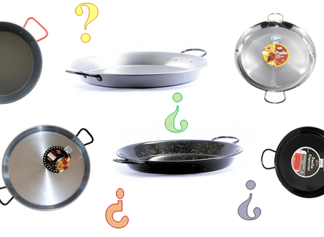 Thinking of buying a paella pan? We'll help you choose the correct one ;)