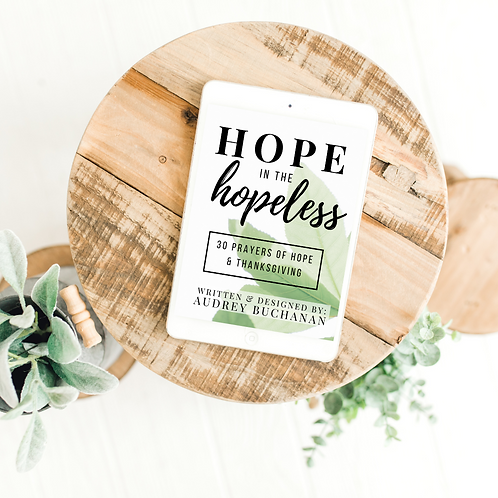 Hope in the Hopeless Ebook