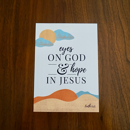 Eyes on God Print