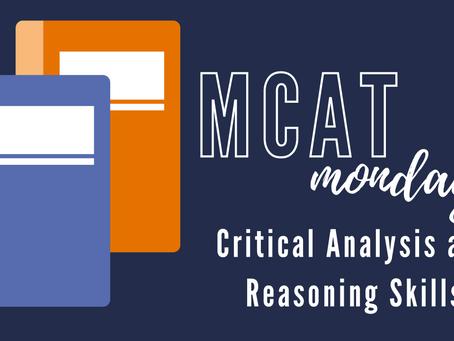 MCAT Monday: Critical Analysis and Reasoning Skills - Practice Set #2