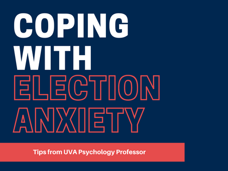 Coping with Election Anxiety