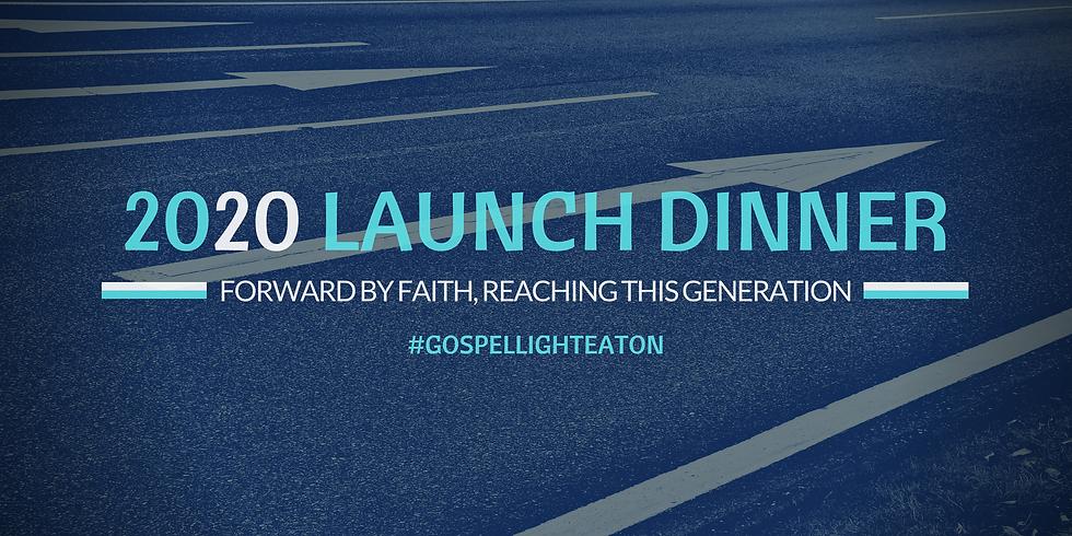2020 Launch Dinner